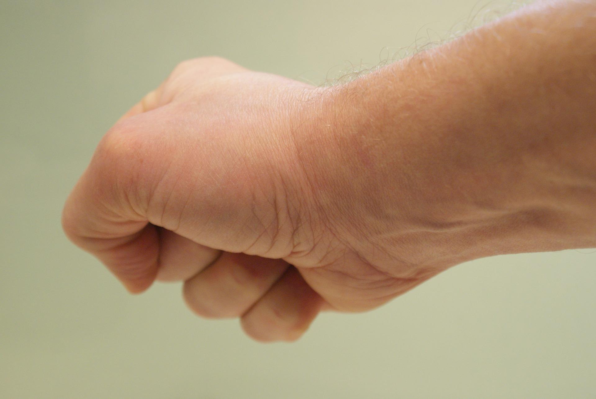 Gespannen spieren